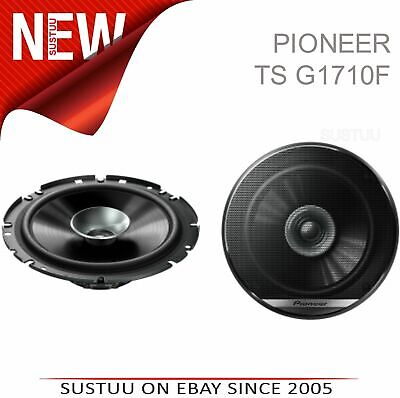 "Pioneer TS G1710F 6.5"" 280W 17Cm 2-Way Dual Cone Coaxial Car Door Speakers -NEW"