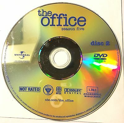 THE OFFICE (U.S.) - Season 5 Disc 2 - Replacement DVD - Disc Only