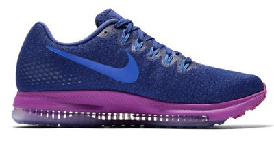 bc58aea283a3 Women s Nike Zoom All Out Low Running Shoes Royal Blue Hyper Violet Mega  Blue 9