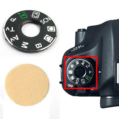 Dial Mode Interface Cap Function Plate Repair Kit Replacement For Canon EOS 6D