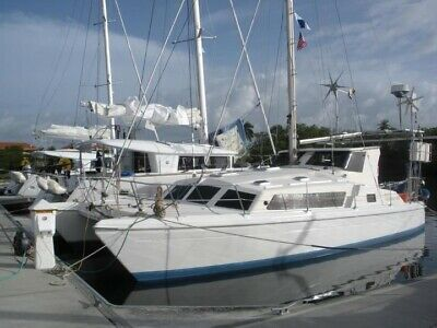 Prout Snowgoose Elite 37' catamaran 1988 blue water cruiser