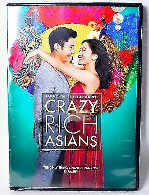 Crazy Rich Asians DVD (2018) - Brand New!  Sealed!