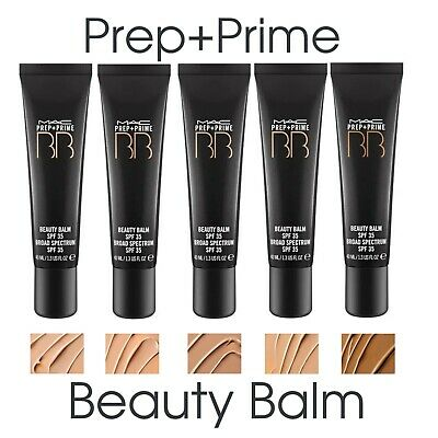Mac Prep + Prime BB Beauty Balm ✅ SPF35 Full size 40ml VARIOUS SHADES New