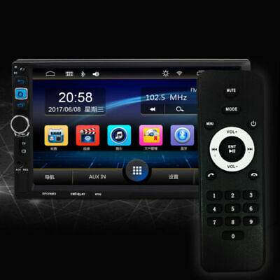 """7"""" Double Din Car MP3 MP5 Radio WIFI GPS Navi Touch Bluetooth Android/iPhone."""