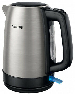 New Philips HD9350 Silver 1.7L Stainless Steel Electric Water Kettle