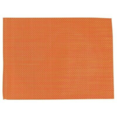APS PVC Placemat Orange (Pack of 6) (Next working day UK Delivery)