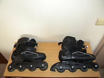 Rollers Oxelo Decathlon Pointure 44 + 8 Protections + Casque
