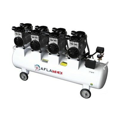 Quiet Compressor Oil-Free Air Silent pro 150l 81db 850l/Min 4800w 400v