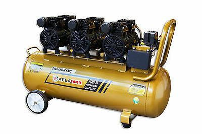 Quiet Compressor Oil-Free Air Aflatek EXC 80l 230v 330l/Min 69db 1800w