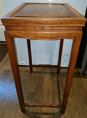 Nice Antique Chinese Rosewood Side Table!