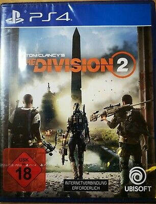 The Division 2---[PlayStation 4 ]---Sony PlayStation 4---Neu und OVP