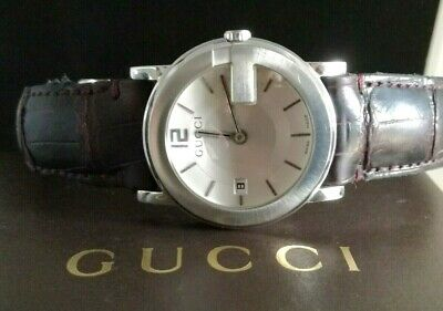 Superbe Montre homme GUCCI  YA101404 G-Dial 101J Swiss Made Full Set