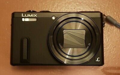 Panasonic LUMIX DMC-TZ60 18.1MP Digital Camera - black + 64 GB memory card