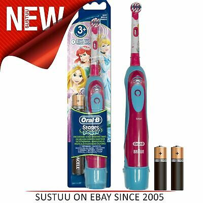 Oral-B Stages Power Kids Electric Toothbrush│Girls Oral│Disney Princess Edition