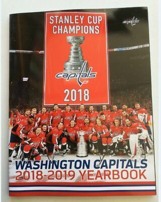 2018 2019 Washington Capitals Yearbook Official Nhl Ovechkin Stanley Cup Champs