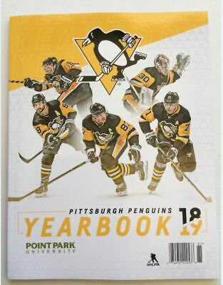 2018 2019 Pittsburgh Penguins Yearbook Official Nhl Crosby Stanley Cup Champs