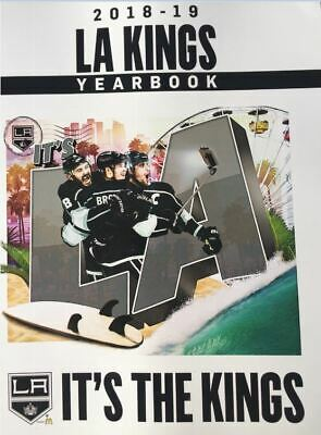 2018 2019 Los Angeles Kings Yearbook Official Nhl D. Brown Stanley Cup Champs