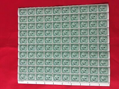 SCOTT#908, 1C STAMP liberty holding TORCH OF FREEDOM SHEET OF 100 NH good qualit