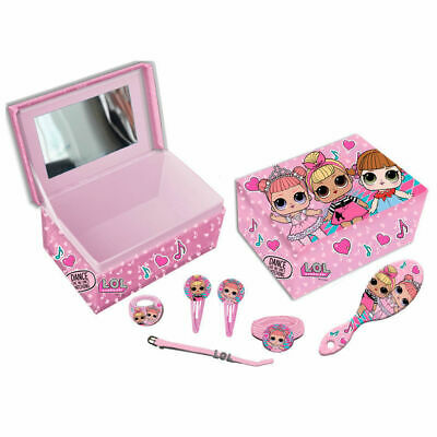Lol Surprise Jewellery And Hair Accessories In Box With Mirror