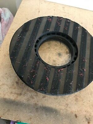 "USED 13"" Pacific Proteus Hook And Loop Pad Driver Assembly Floor Scubber"