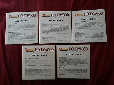 Hollywood Classics Lot Of (5) Used Dvd 20 Movies Disc 13,14,17,18,19