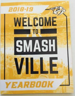 2018 2019 Nashville Predators Yearbook Official Nhl Rinne Stanley Cup Champ