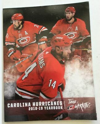 2018 2019 Carolina Hurricanes Yearbook Official Nhl Williams Stanley Cup Champs