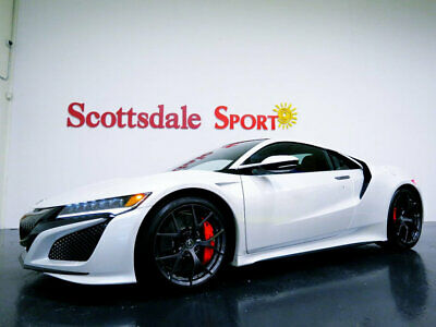 2017 Acura NSX * ONLY 3K Miles...Casino White Pearl 17 ACURA NSX w 3K Mi. CASINO WHITE PEARL on RED LTHR, LOADED w OPTIONS, AS NEW!