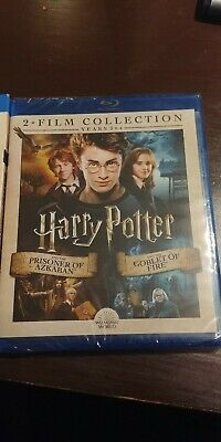 NEW HARRY POTTER YEARS 3 & 4 2 FILM COLLECTION BLU-RAY SEALED with SLIP COVER