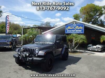 2014 Jeep Wrangler SAHARA HARDTOP 1 OWNER NO ACCIDENT FL 2014 JEEP WRANGLER SAHARA 4WD HARDTOP LEATHER 29K MILES