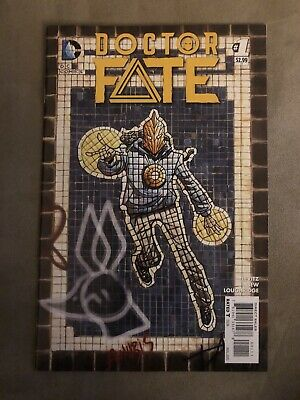 Doctor Fate #1 NM 2015 DC Comics 1st print 1st app Khalid Nassour