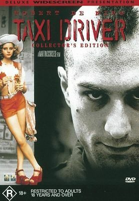 Taxi Driver (1976) Robert De Niro - NEW DVD - Region 4