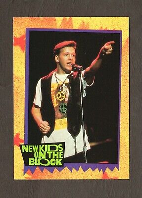 1989 Topps New Kids on the Block Card #5 Girlfriends  #F39351