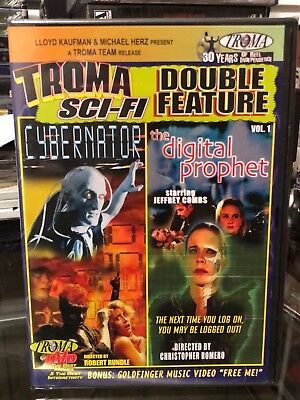 Troma Sci-Fi Double Feature - Cybernator / The Digital Prophet (DVD) NEW!