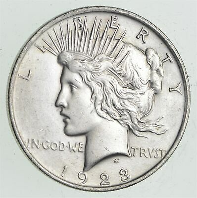 Early - 1923 - Peace Silver Dollar - 90% US Coin *667