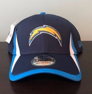 super popular 05750 c8fcc Authentic NFL Los Angeles Chargers New Era 39Thirty Stretch Baseball Cap  Hat NEW