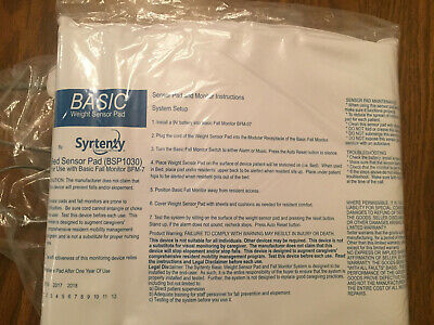 New Syrtenty Wired Bsp1030 Bed Pad Alarm Replacement Sensor