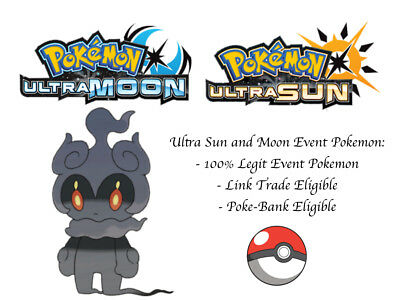 POKEMON ULTRA SUN and Moon Pokemon Movie Marshadow Japan Event Pokemon