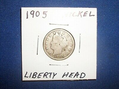 1905 Liberty Head Nickel Average Circulated