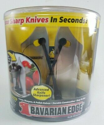 Bavarian Edge Kitchen Knife Sharpener by BulbHead - Official - NEW