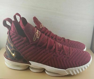 d47a88626a70 BRAND NEW NIKE LeBron 16 XVI King Red Gold Men's Size 17 Basketball ...