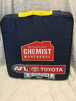 2017 AFL Grand Final Seat Cushion Richmond Tigers vs Adelaide Crows