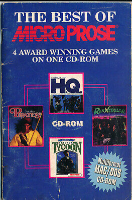 The Best of Microprose - Vintage CD-ROM