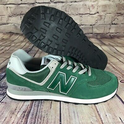 NEW BALANCE NB 574 Running Shoes Sneakers Forest Green ML574EGR Size 17 2E New