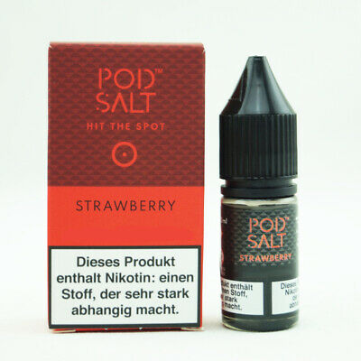 Pod Salt - Strawberry 20mg salt 10ml Liquid
