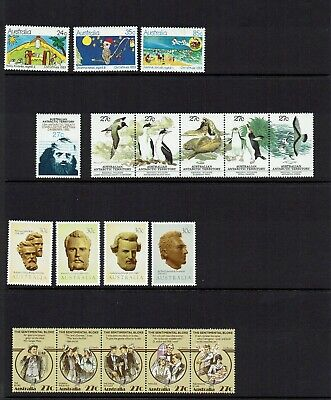 Australia Decimal. Stamps From  1983 Collection Muh