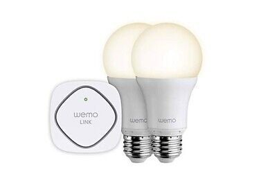 2x Belkin Smart Light Wemo b22 kit Wemo Link Australian Plug Worth $155