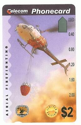 PRISTINE MINT $2 HELICOPTERPHONECARD Pre 684  INVESTMENT QUALITY 5/15
