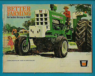 Oliver 1968 Better Farming Catalogue 48 Page Brochure