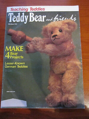 Old Teddy Bear Magazine Teddy Bear And Friends May/june 1991 *** Must See ******